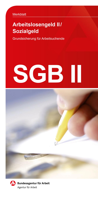 Merkblatt SGB II